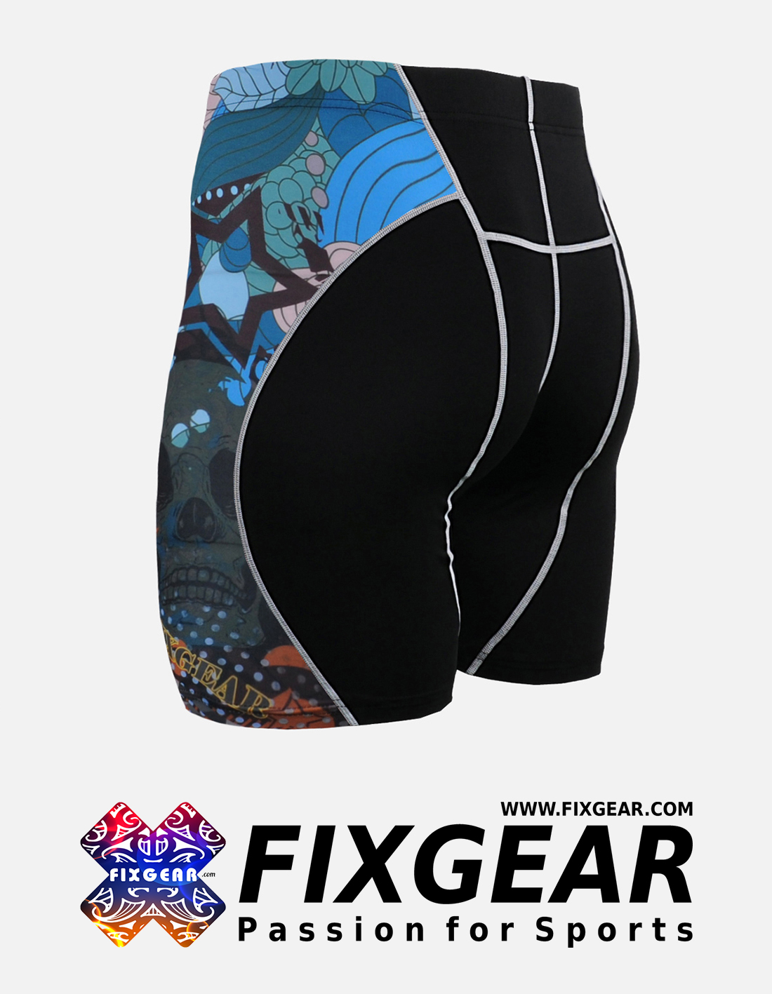 FIXGEAR P2S-B46 Compression Drawer Shorts