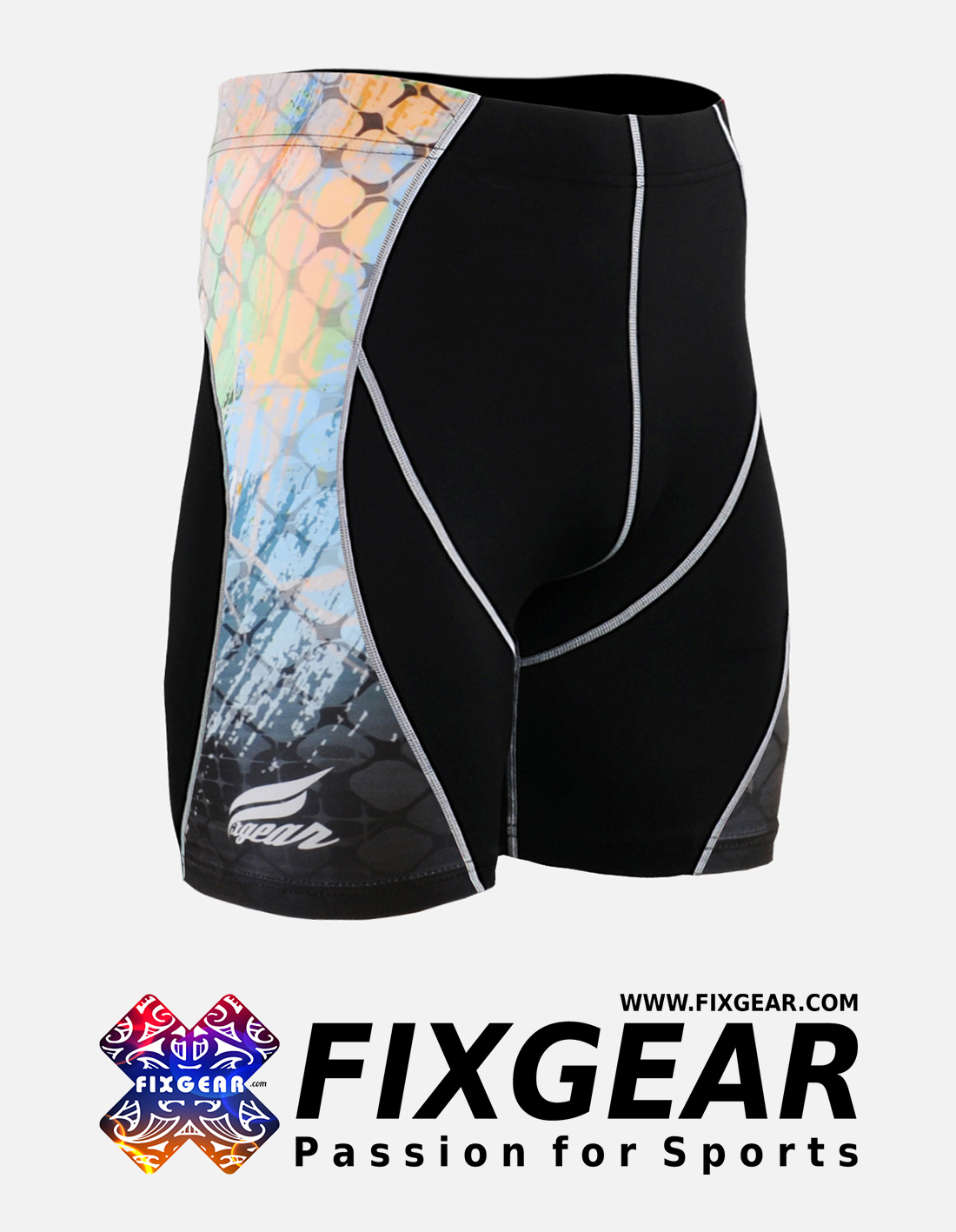 FIXGEAR P2S-B49 Compression Drawer Shorts