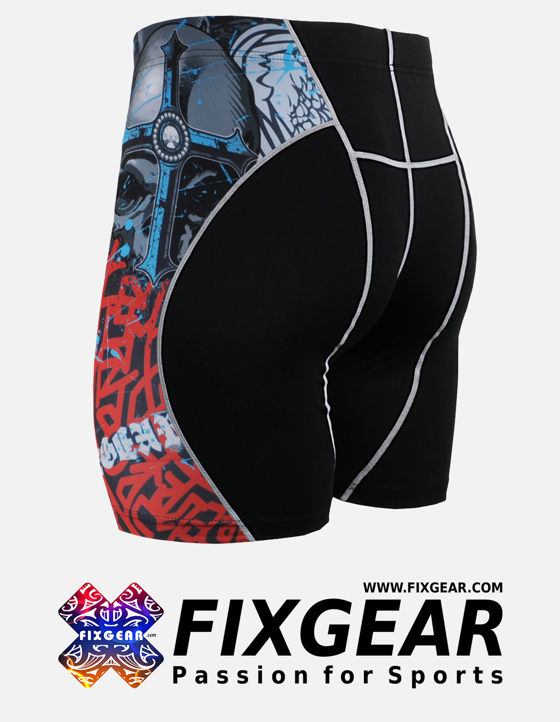 FIXGEAR P2S-B73 Compression Drawer Shorts