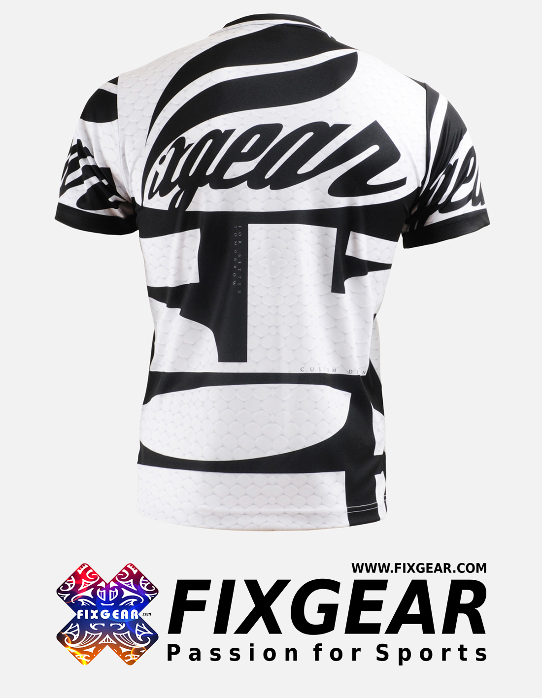 FIXGEAR RM-3402 Men's Casual short sleeve Crew-Neck T-Shirt