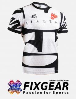 FIXGEAR RM-3402 Men's Casual short sleeve Crew-Neck T-Shirt