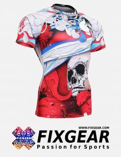 FIXGEAR CFS-19R Skin-tight Compression Base Layer Shirt