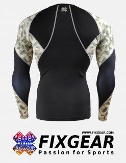 FIXGEAR C3L-B45Y Compression Base Layer Shirt