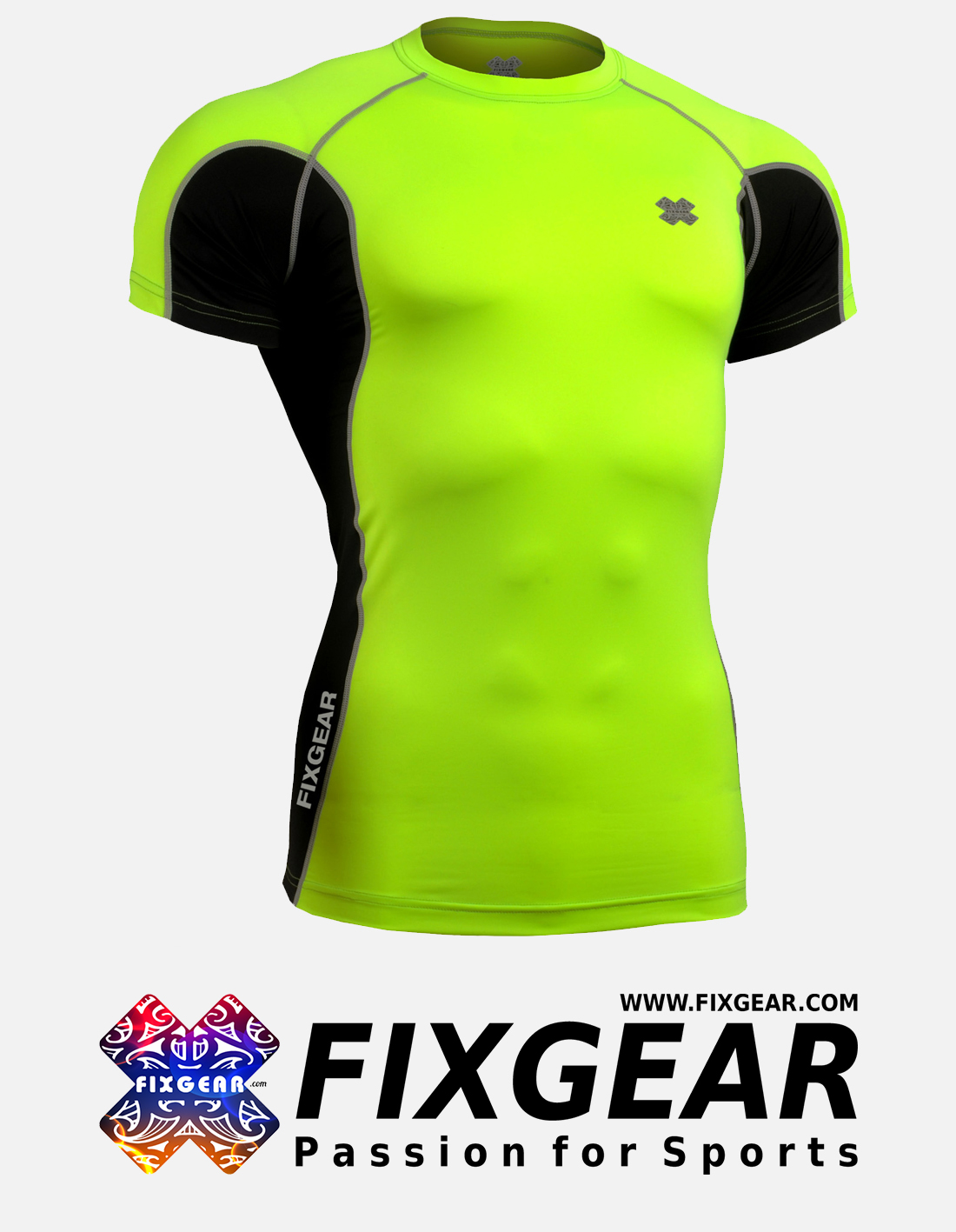 FIXGEAR FCTR-BGS Skin-tight Compression Base Layer Shirt