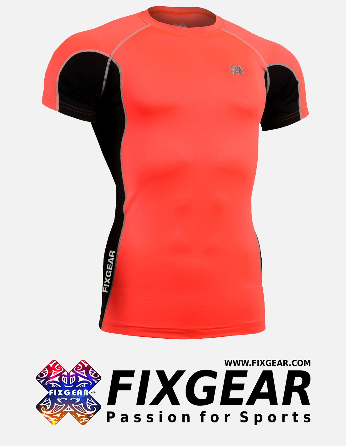 FIXGEAR FCTR-BPS Skin-tight Compression Base Layer Shirt