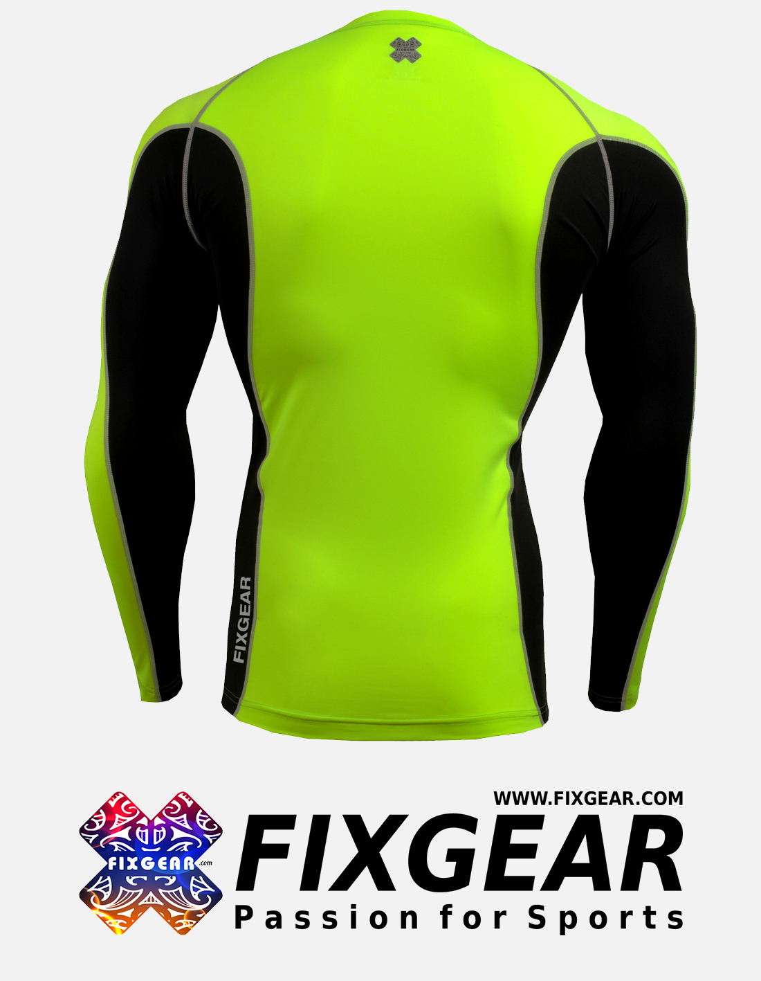 FIXGEAR FCTR-BGL Skin-tight Compression Base Layer Shirt