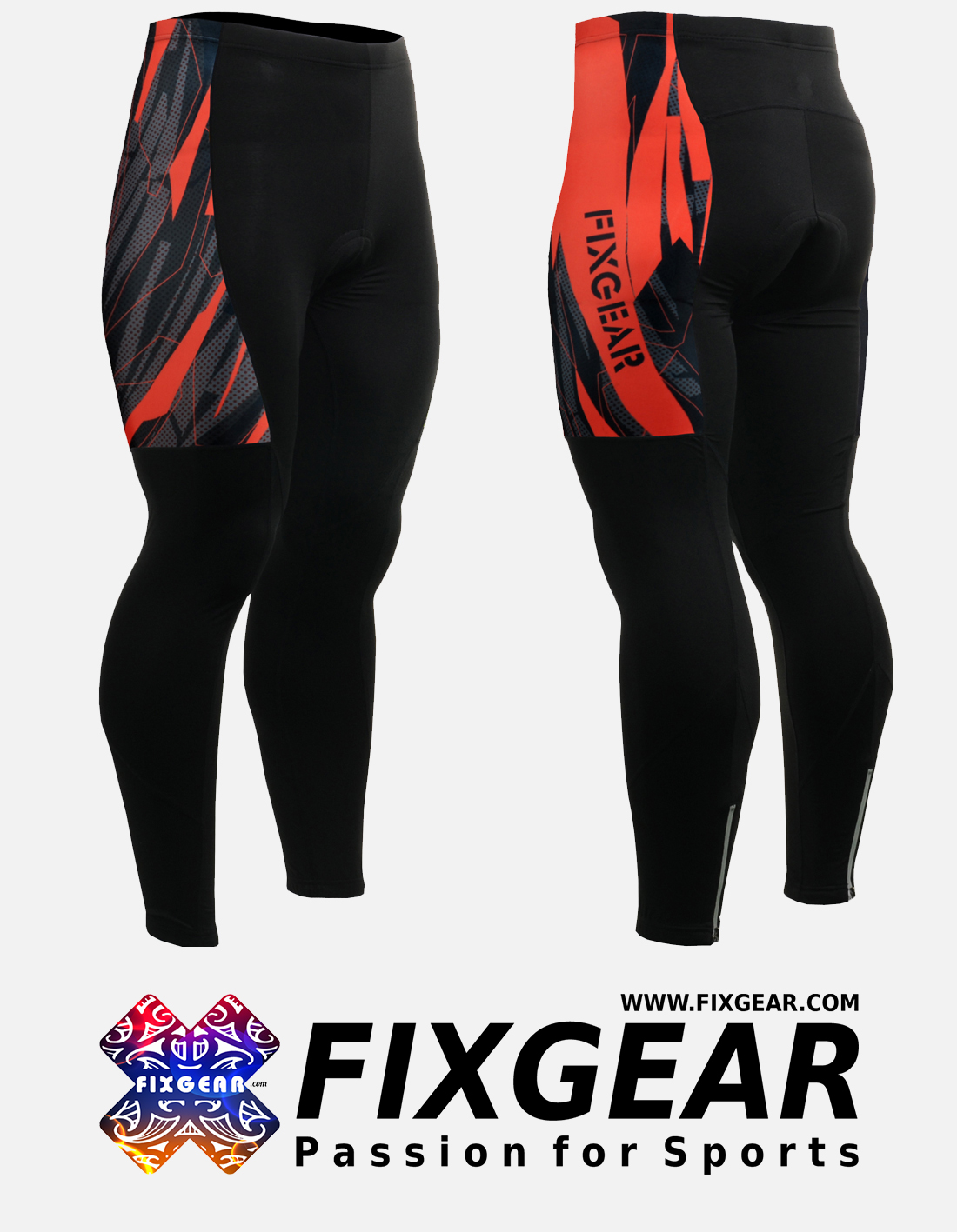 FIXGEAR LT-68 Men's Cycling Cycling Padded Pants