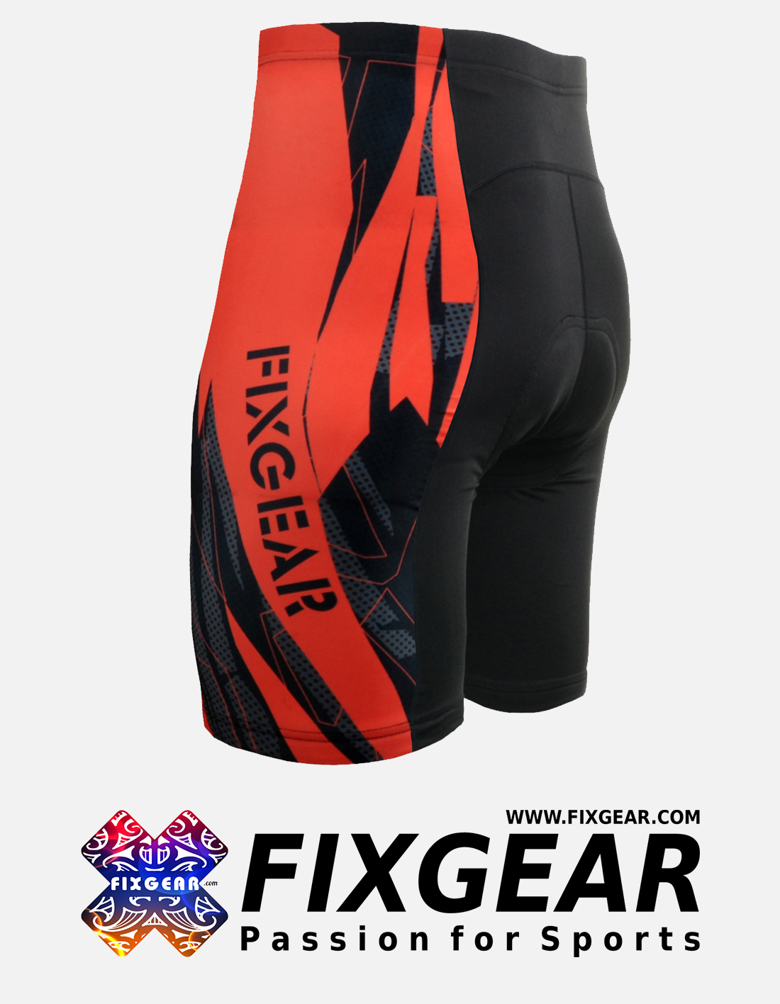 FIXGEAR ST-68 Men's Cycling Cycling Padded Shorts