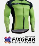 FIXGEAR CS-7501 Men's Cycling Jersey Long Sleeve