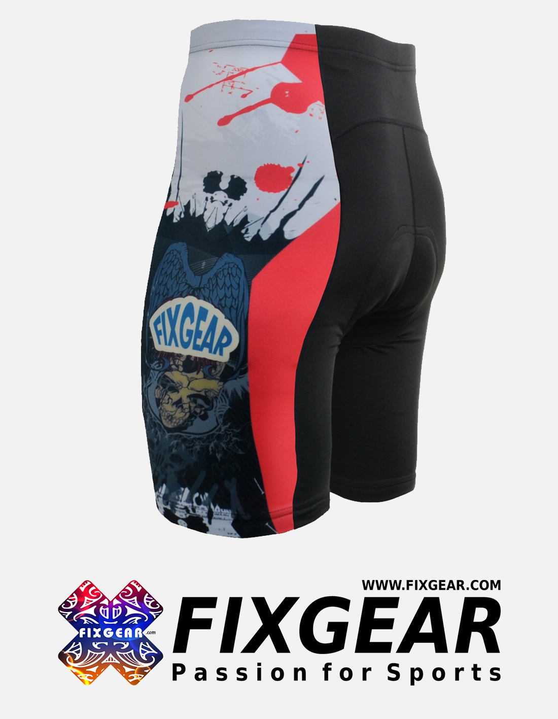 FIXGEAR ST-44 Men's Cycling Cycling Padded Shorts