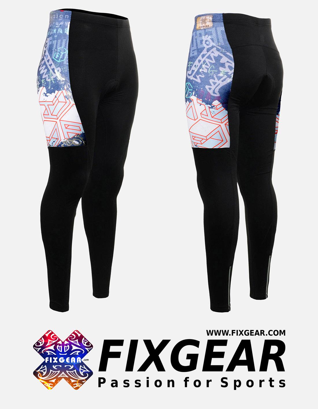 FIXGEAR LT-W15 Women's Cycling Padded Long Pants