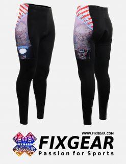 FIXGEAR LT-W16 Women's Cycling Padded Long Pants