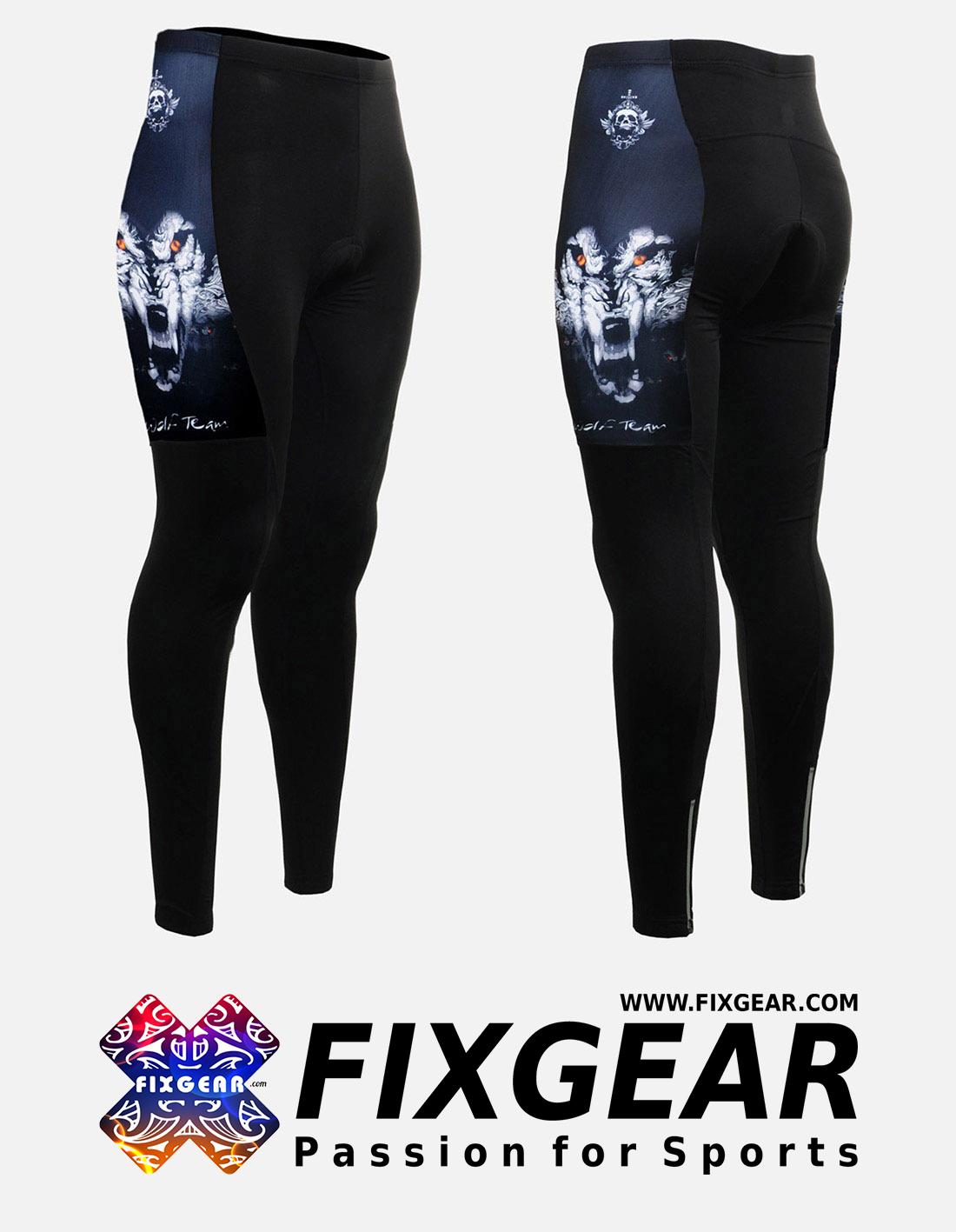 FIXGEAR LT-W18 Women's Cycling Padded Long Pants