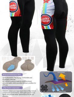 FIXGEAR LT-g1 Men's Cycling Cycling Padded Pants