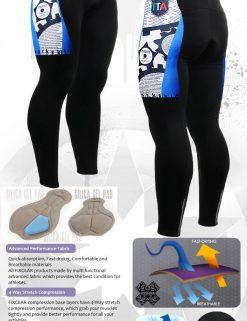 FIXGEAR LT-g5 Men's Cycling Cycling Padded Pants