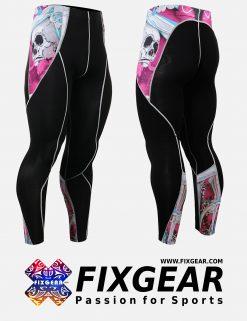 FIXGEAR P2L-B19P Compression Leggings Pants