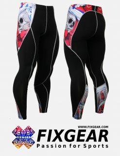 FIXGEAR P2L-B19R Compression Leggings Pants