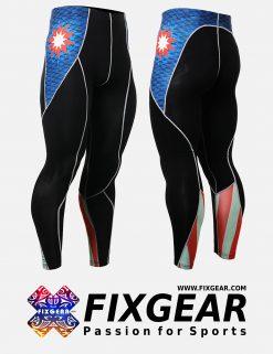 FIXGEAR P2L-B37 Compression Leggings Pants
