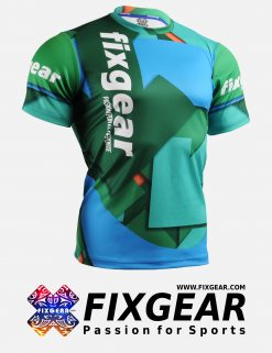 FIXGEAR RM-51R2 Men's Casual short sleeve Crew-Neck T-Shirt