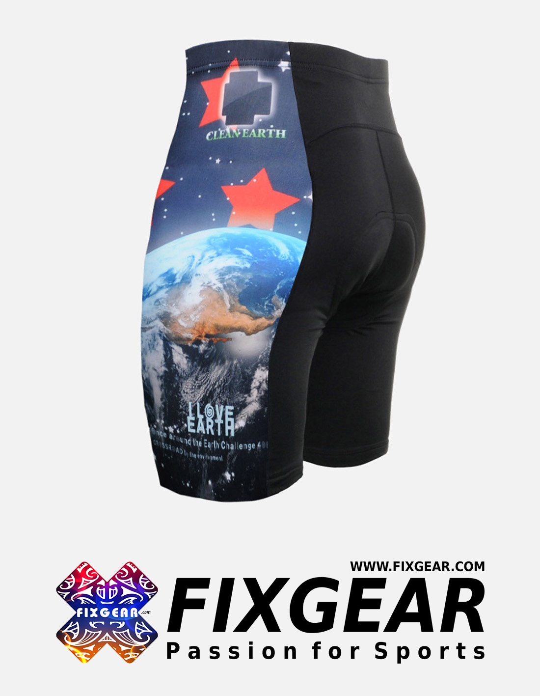 FIXGEAR ST-W10 Women's Cycling Padded Shorts