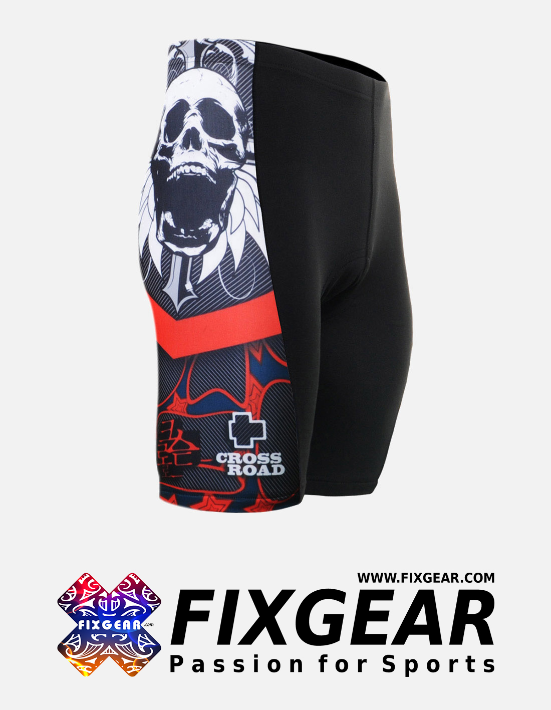FIXGEAR ST-W11 Women's Cycling Padded Shorts