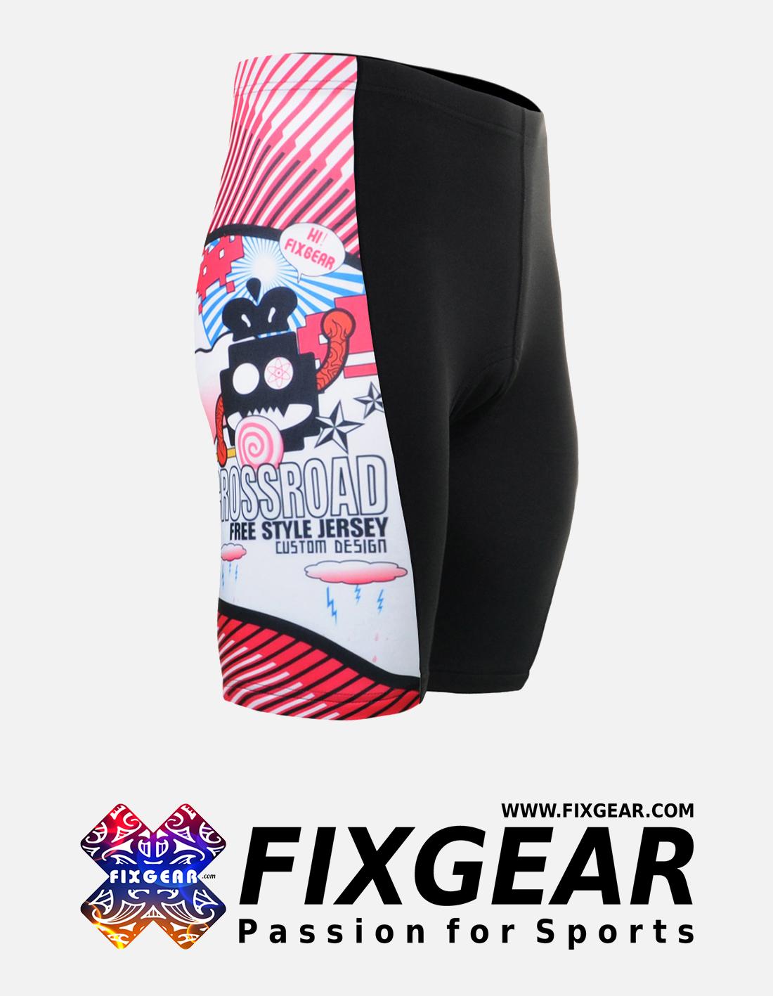 FIXGEAR ST-W29 Women's Cycling Padded Shorts