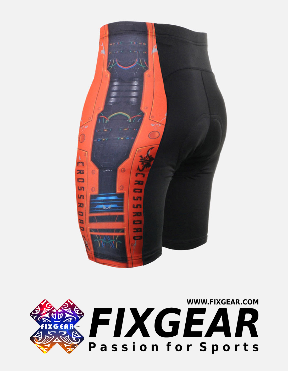 FIXGEAR ST-W8 Women's Cycling Padded Shorts