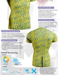 FIXGEAR CFS-g6y Skin-tight Compression Base Layer Shirt
