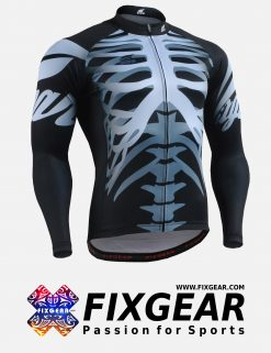 FIXGEAR CS-5501 Men's Cycling Jersey Long Sleeve