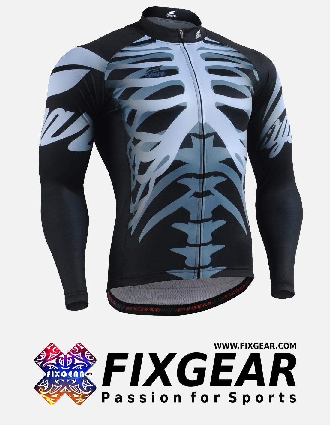 FIXGEAR CS-5501 Men's Cycling Jersey Long Sleeve