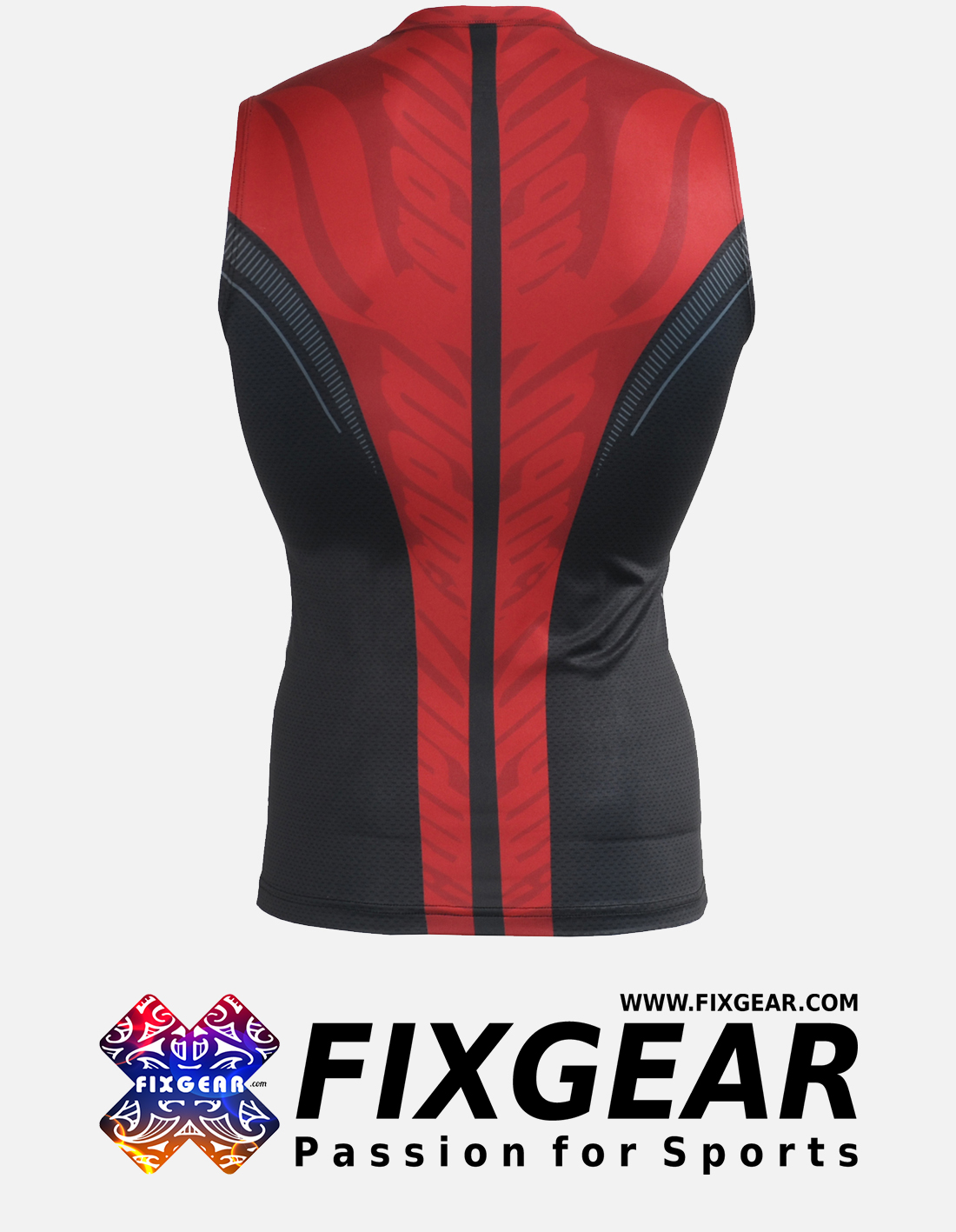 FIXGEAR CFN-H72 Compression Base Layer Sleeveless Shirt