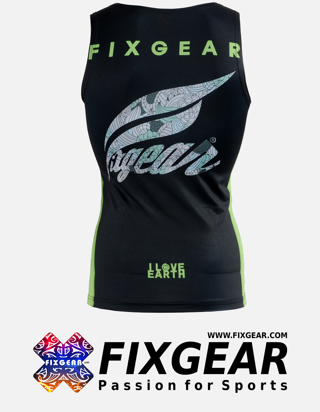 FIXGEAR CFN-L12K Compression Base Layer Sleeveless Shirt