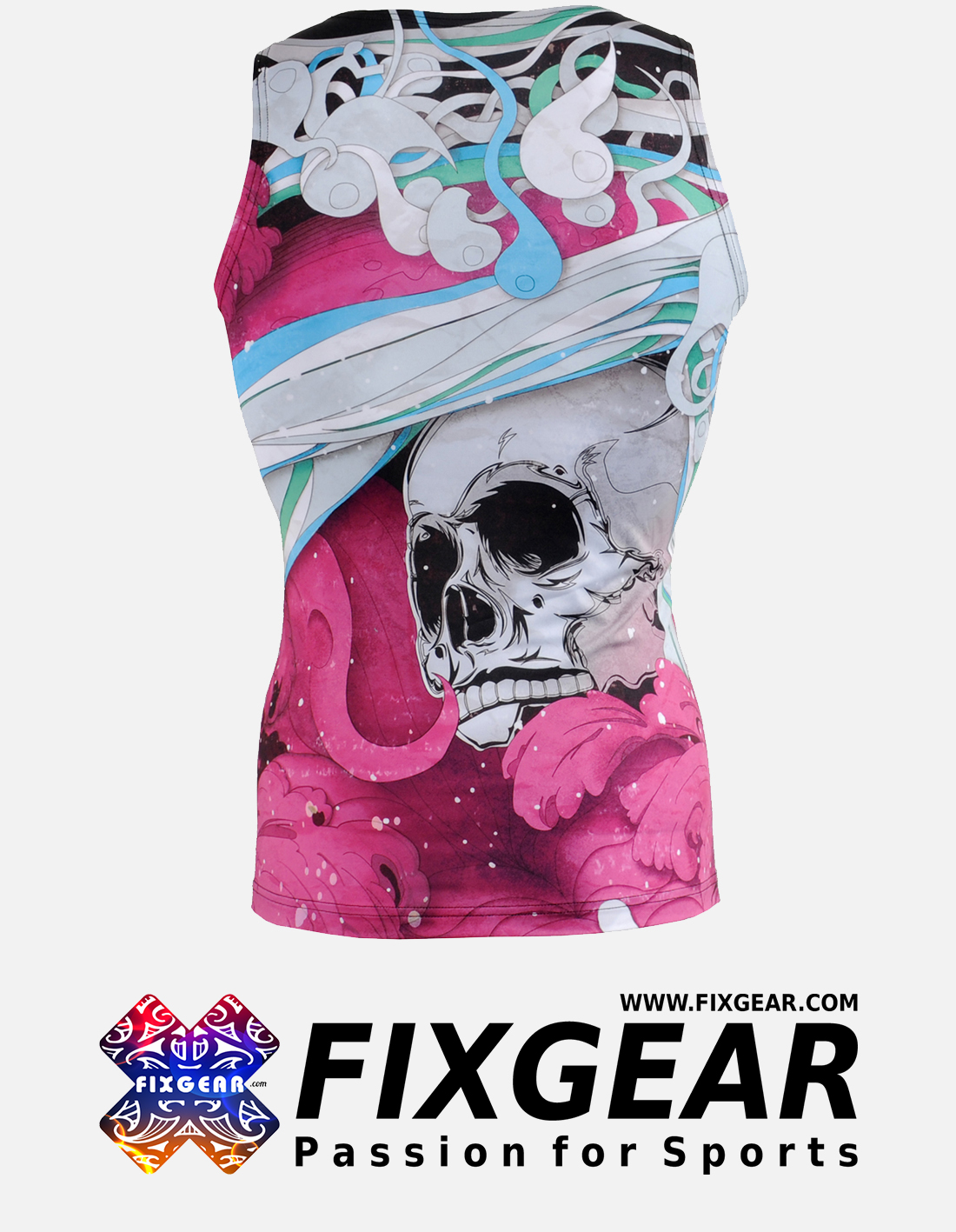 FIXGEAR CFN-L19P Compression Base Layer Sleeveless Shirt