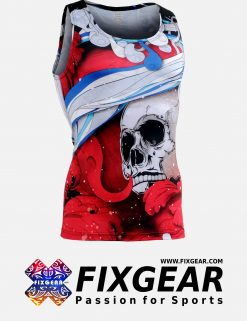FIXGEAR CFN-L19R Compression Base Layer Sleeveless Shirt