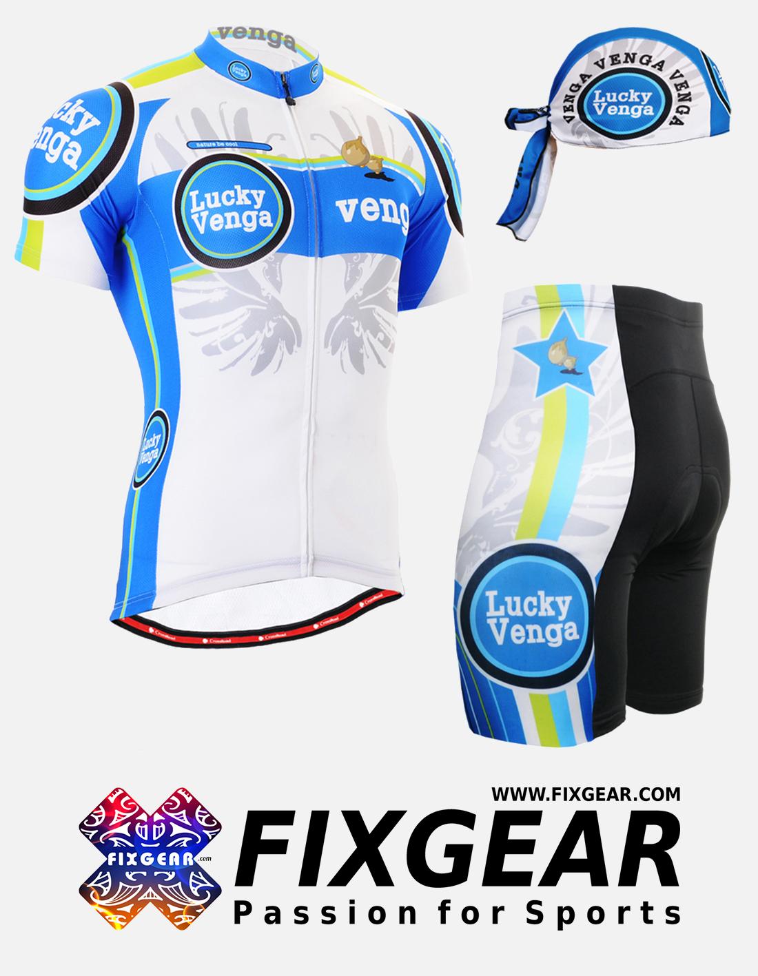 FIXGEAR CS-G202 Set Cycling Jerseys & Padded Shorts