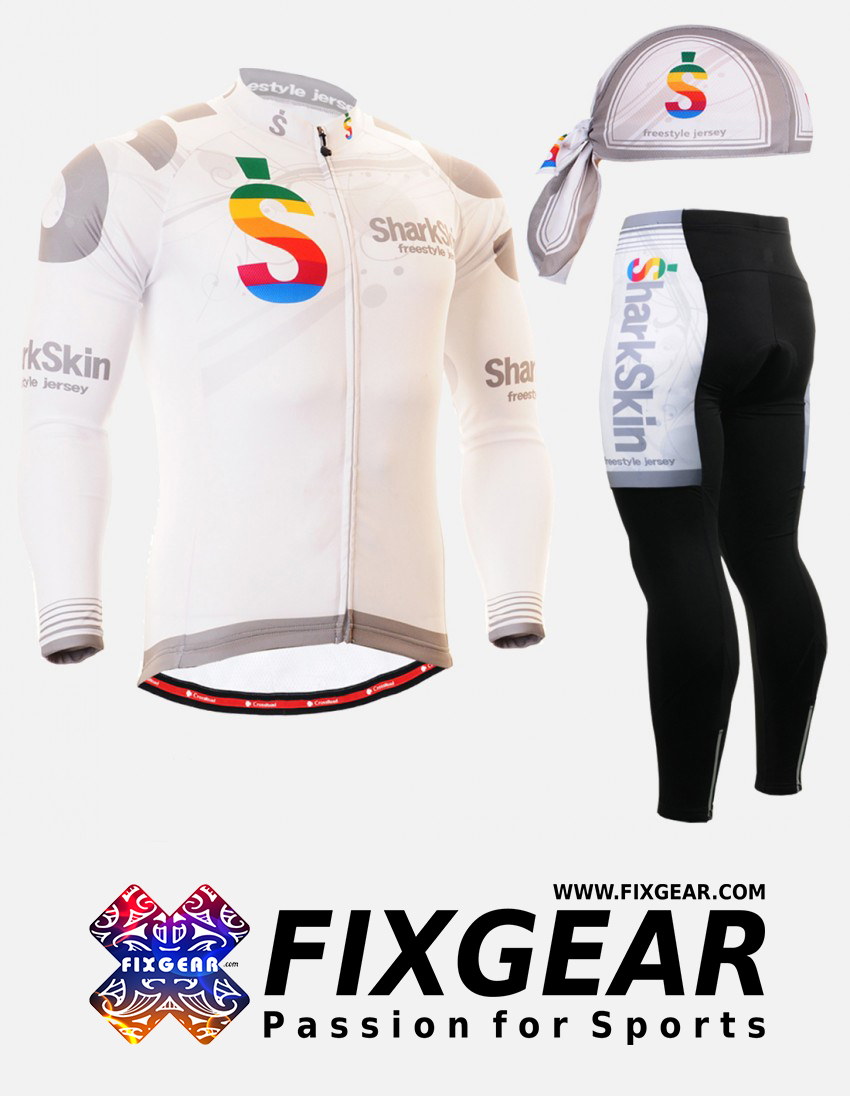 FIXGEAR CS-G701 Set Cycling Jerseys & Padded Pants 1