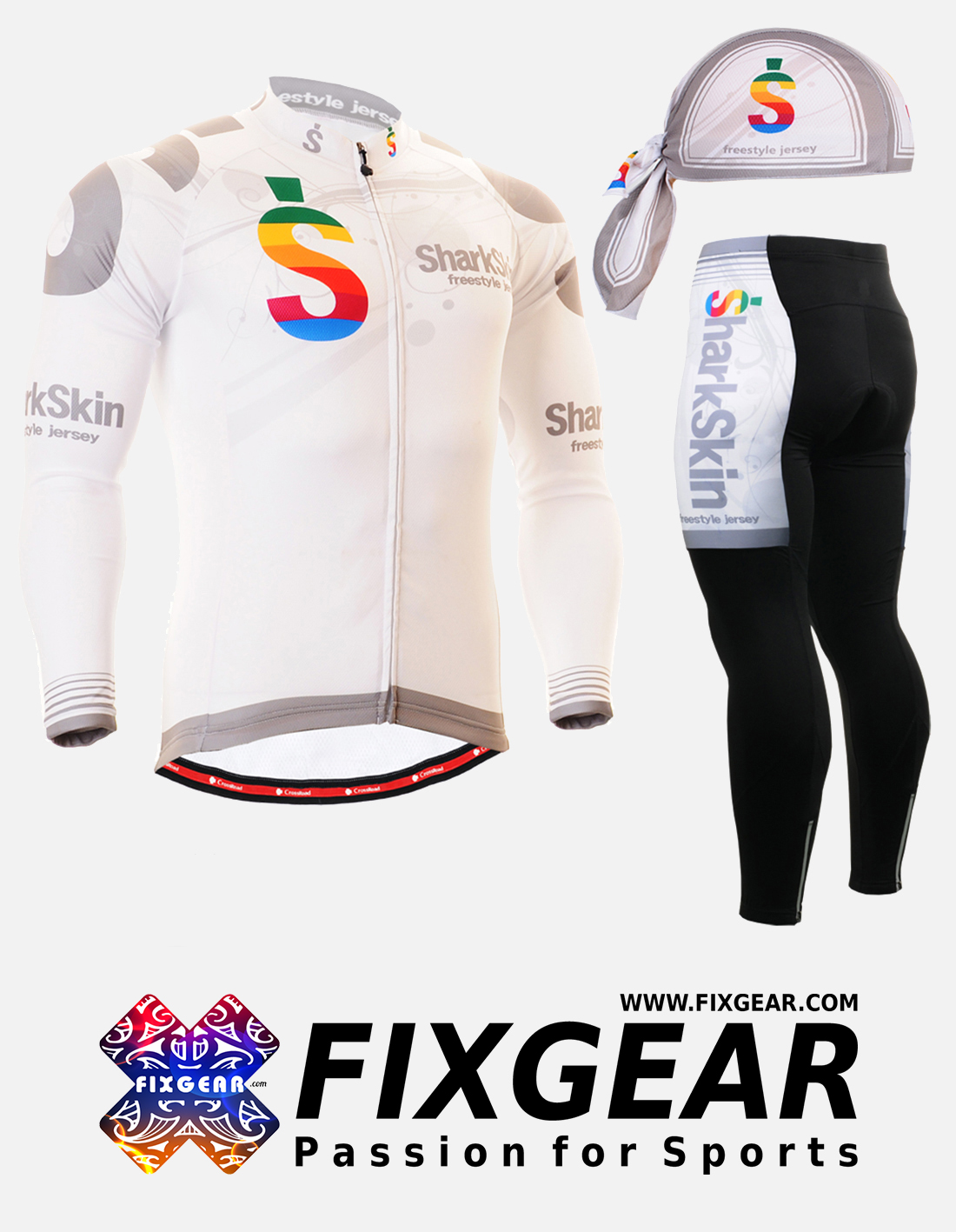 FIXGEAR CS-G701 Set Cycling Jerseys & Padded Pants
