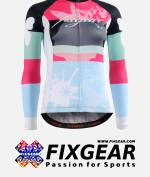FIXGEAR CS-WJ501 Women's Long Sleeve Jersey