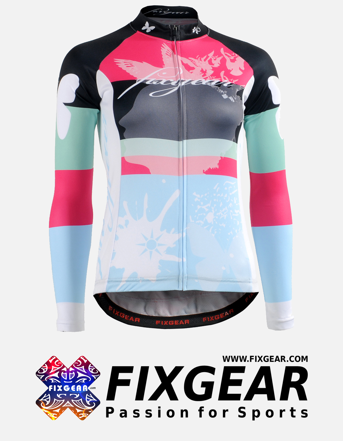 FIXGEAR CS-WJ501 Women's Long Sleeve Jersey