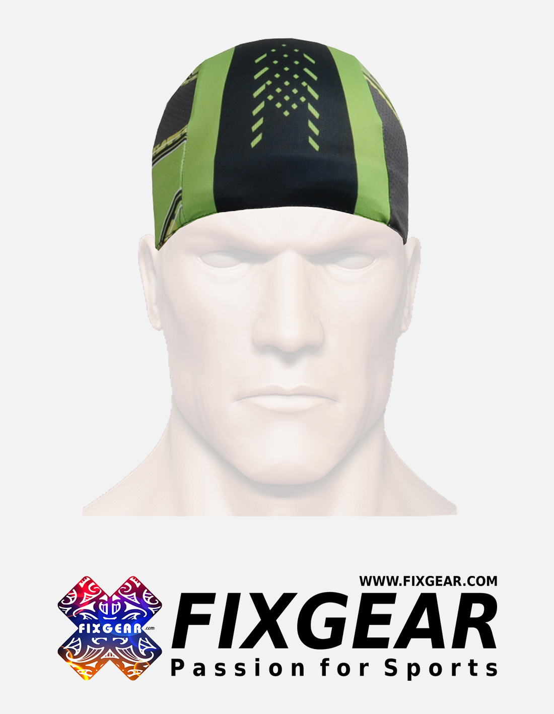 FIXGEAR D-75 Cycling Skull cap, Bandana