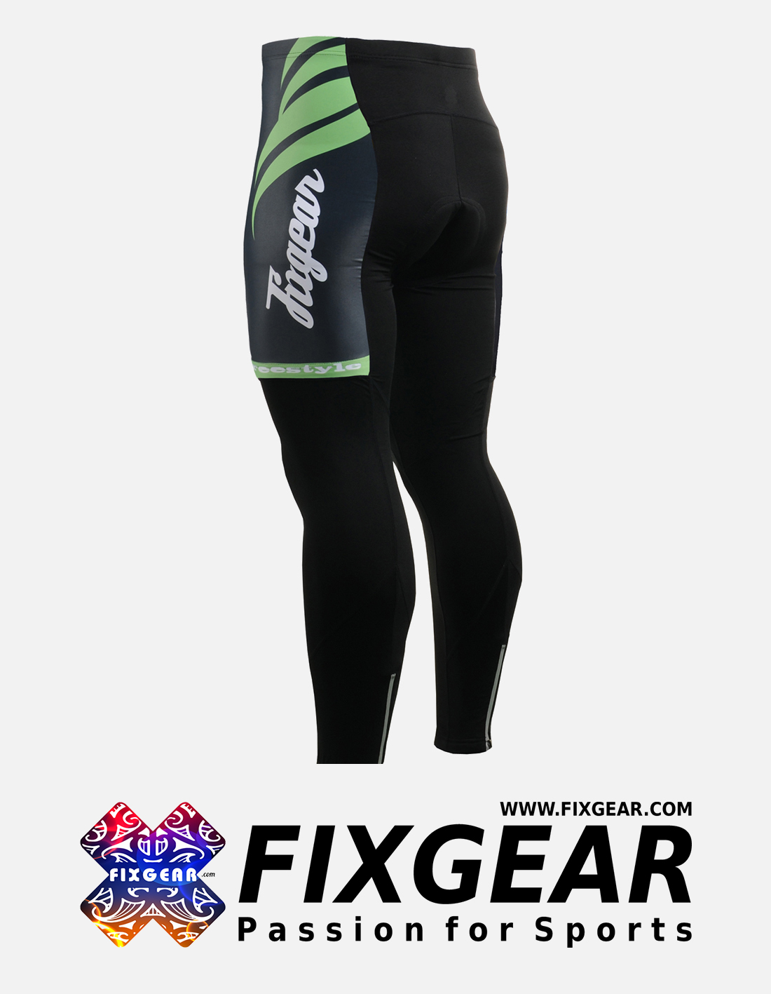 FIXGEAR LT-12K Men's Cycling Cycling Padded Pants