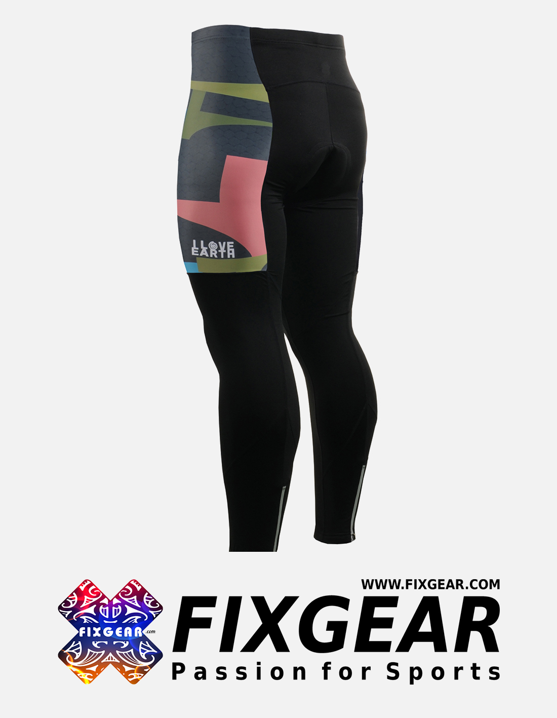 FIXGEAR LT-34K Men's Cycling Cycling Padded Pants
