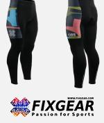 FIXGEAR LT-34K Men's Cycling Cycling Padded Pants 3