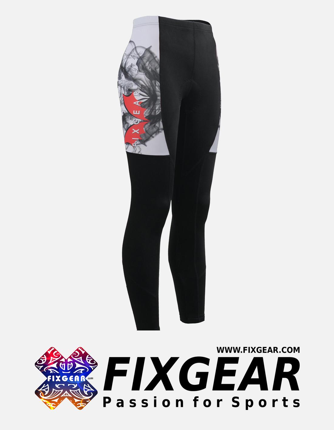 FIXGEAR LT-WJ3 Women's Cycling Padded Long Pants