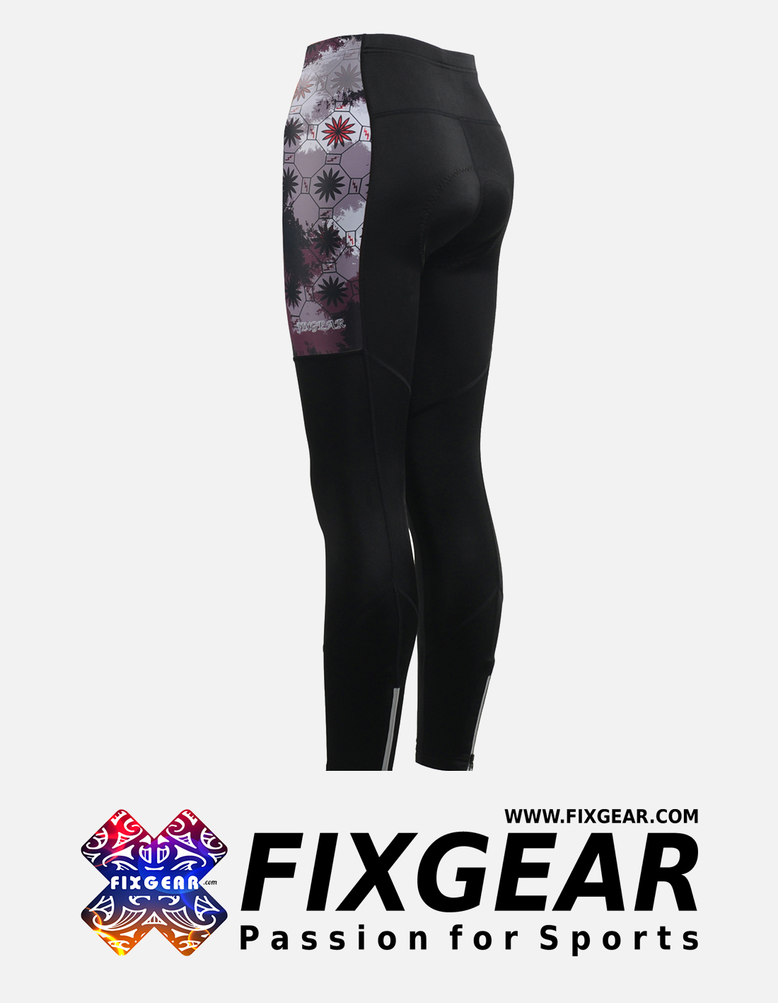 FIXGEAR LT-WJ4 Women's Cycling Padded Long Pants