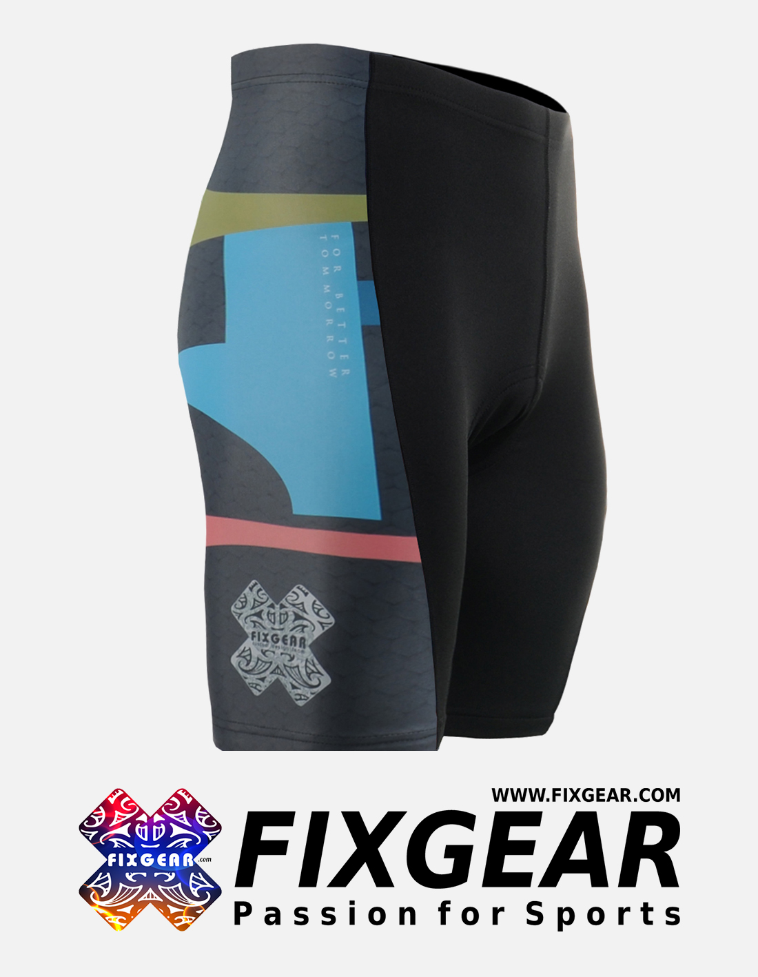 FIXGEAR ST-34K Men's Cycling Cycling Padded Shorts