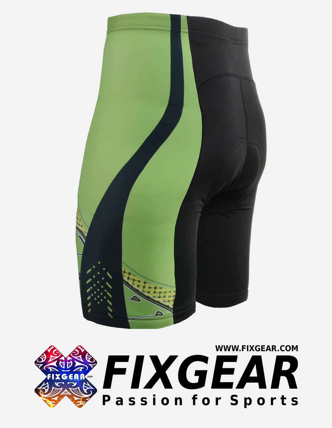 FIXGEAR ST-75 Men's Cycling Cycling Padded Shorts