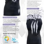 FIXGEAR CFN-L18 Compression Base Layer Sleeveless Shirt 3