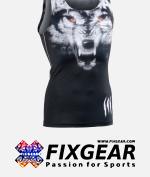 FIXGEAR CFN-L18 Compression Base Layer Sleeveless Shirt