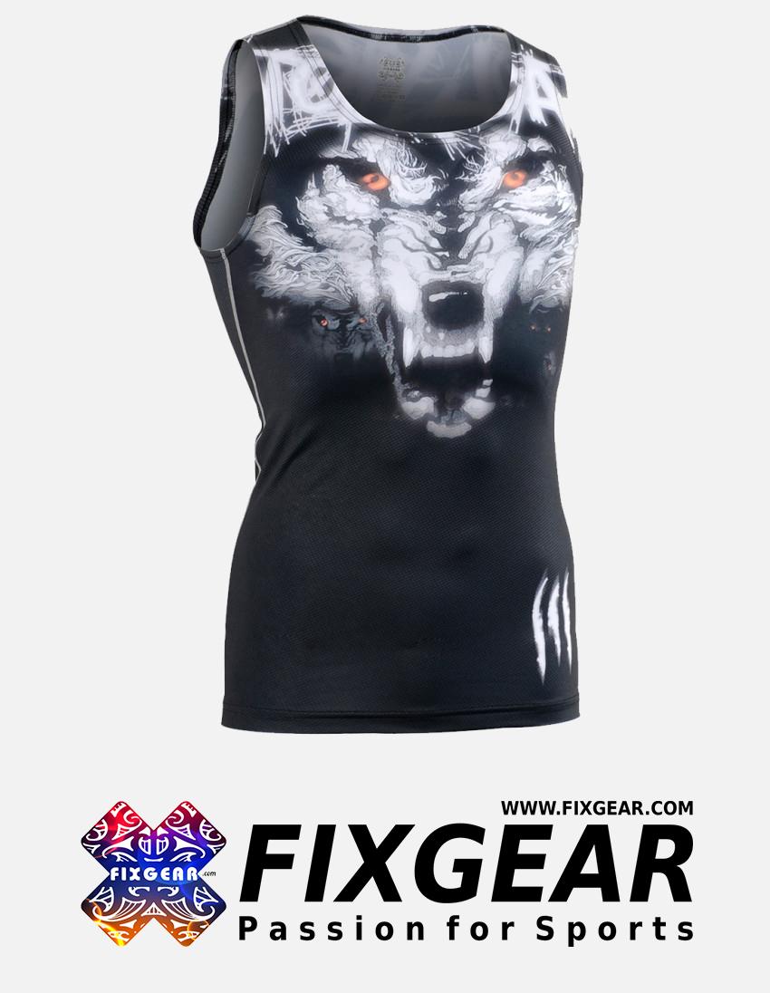 FIXGEAR CFN-L18 Compression Base Layer Sleeveless Shirt 1